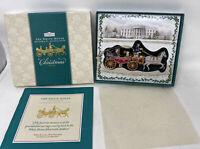 White House Historical Association Christmas Ornament 2001