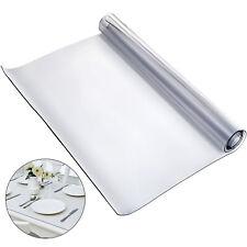 183X117cm Clear Plastic Table Cloth Cover PVC Tablecloth Protector Transparent