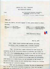 LEE GRANT FAY TV SHOW RARE ORIGINAL 1976 NBC TV PRESS MATERIAL