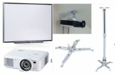 "SmartBoard SB680 77"" Interactive WhiteBoard with Projector Warranty Exp 2019"