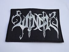 WINDIR BLACK METAL EMBROIDERED PATCH