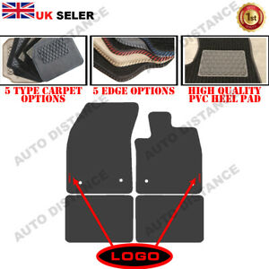 Tailored Carpet Car Mats With Heel Pad FOR Ford Focus MK4 WITH LOGO 2018-2020