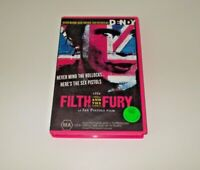 The Filth and the Fury VHS Pal The Sex Pistols Documentary