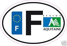 Autocollant sticker de département 24 Aquitaine