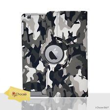 Camuflaje Smart Funda Cuero de Pu / para Apple Ipad 2/3/4 / Mini / Mini4 /Aire /