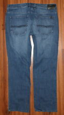 MENS BUFFALO JACKSON-X STRAIGHT STRETCH JEANS SZE 36X30