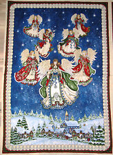 "Angels on High Christmas Angels Fabric Panel 29""  #24027"