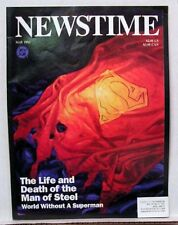 May 1993 NEWSTIME Magazine-Life & Death of Man of Steel SUPERMAN Special (J5343)