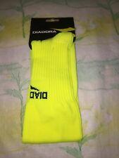 Diadora Unisex Squadra Sock Matchwinner Yellow Size Medium
