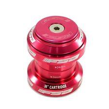 "FSA Orbit MX 1-1/8"" Threadless MTB Road Headset with Top Cap , Red"