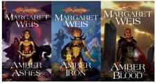Margaret Weis DRAGONLANCE DARK DISCIPLE Fantasy Collection Set of PAPERBACKS 1-3