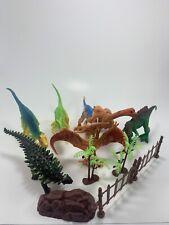 Dino Outbreak Life Like Dinosaur Models Figures Set New (Little Box Damaged)