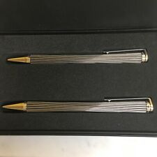 PORSCHE DESIGN MIKADO P'3130 PEN & PENCIL SET IN ORIGINAL BOX. NOS AT IT'S BEST!