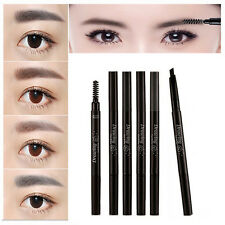 Waterproof Cosmetic Tool Makeup Eye Brow Pen Eyebrow Liner Pencil With Brush Set