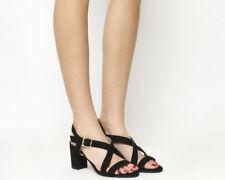 Block Heel Sandals OFFICE Heels for Women