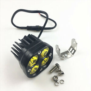 Car ATV Truck Off Road 12V/24V LED Work Fog Light Durable Flood Beam Lens 1PC