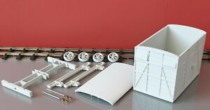 sm32 16mm narrow gauge Box Van complete garden railway kit.