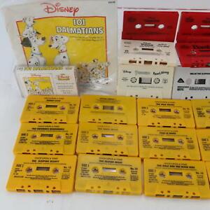 Vintage Huge Bundle Audio Book Cassette Tape Disney Stories x23 Various