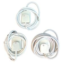 Pifco 1 Gang Single Socket Electrical Extension Lead Cable 2m, 3m and 5m Length