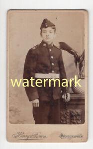 Queen's West Surrey Regiment solder, London, CDV