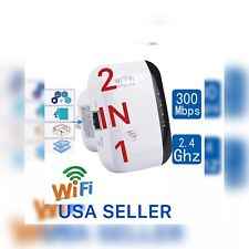 300Mbp WIFI REPEATER  WIRELESS-N 802.11 AP ROUTER EXTENDER SIGNAL ( USA SELLER )