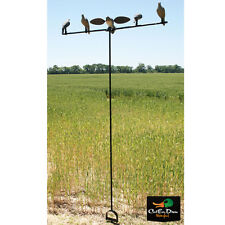 NEW MOJO QUICK SET DOVE PIGEON DECOY TREE MOUNTING STAND W/ CARRYING BAG VOODOO