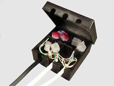 Black External Telephone Junction  Box. BT16A  Block terminal 16A - WITH BT LOGO