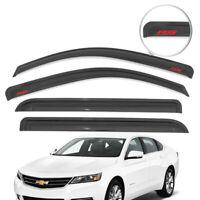 For 14-18 Chevy Impala Sedan Window Visor Vent Guard Shade Deflector w/ RS