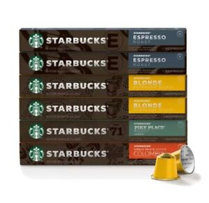 Starbucks by Nespresso Favorites, Variety Pack (60 count)