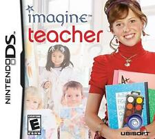 Nintendo DS Imagine Teacher (Nintendo DS) VideoGames
