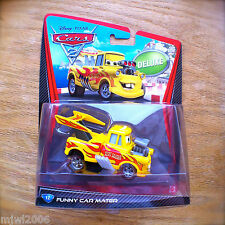 Disney PIXAR Cars 2 FUNNY CAR MATER diecast DELUXE #12 tuner modified disguised
