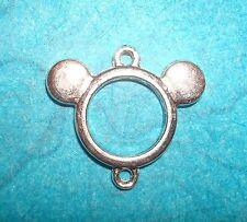 Pendant Mickey Mouse Charm Connector Pendant Minnie Mouse Pendant Charm Disney