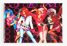 JEM and the Holograms FRIDGE MAGNET (2 x 3 inches) cartoon tv show 80's