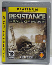 RESISTANCE FALL OF MAN - PS3 - PLAYSTATION 3 - USATO COMPLETO PAL ITALIANO