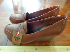 New Beautiful Brown Shoes Size 10 M BY ROUTE 66 ORIGINAL CLOTHING CO.