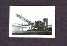 Railroad Crane - Original B&W Photo