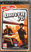 Driver 76 jeu de course PSP ~ Nouveau / scellé