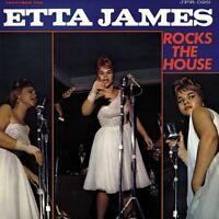 ETTA JAMES - ROCKS THE HOUSE (LIMITED  BLUE VINYL)   VINYL LP NEU