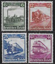 Germany Third Reich 1935 Mi# 580-583 MH German Railway Centenary *