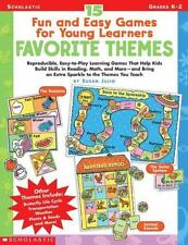 15 Fun and Easy Games for Young Learners: Favorite Themes:-ExLibrary
