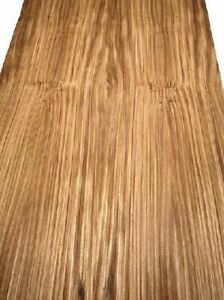 Zebrano Holz Furnier Zebrawood F3 254x23/25cm 2 Blätter