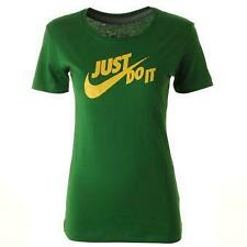 Nike T-Shirt Short Sleeve Training Top Green 100% Authentic