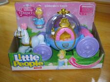 Fisher Price Little People Disney Cinderella's Carriage Coach