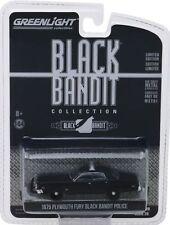 "1975 Plymouth Fury  POLICE Custom "" BLACK BANDIT  *** Greenlight 1:64  **SALE**"