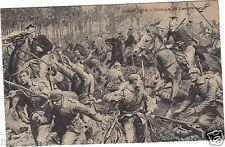 Belgique - LIEGE 1914 - Charge de Lanciers
