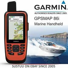 GPS Garmin Gpsmap 86i Marina de mano con capacidades de inReach │ con W base │ IPX7