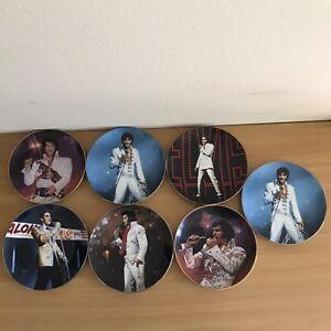 Elvis Presley Plates  lot of 7