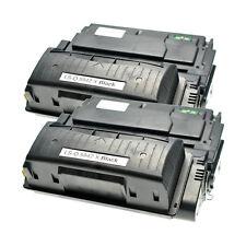 2 Tonerkartuschen Black für HP LaserJet 4250 TN Q5942A Q5942X