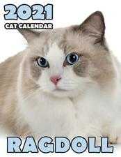 Ragdoll 2021 Cat Calendar by Climbing Wall Cats (English) Paperback Book Free Sh