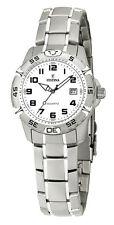 FESTINA F16172/8 Damen Edelstahl Armband Uhr mit Datumsanzeige neu